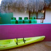 Kayak & Wall