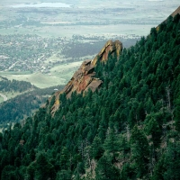 FLATIRONS FROM ABOVE