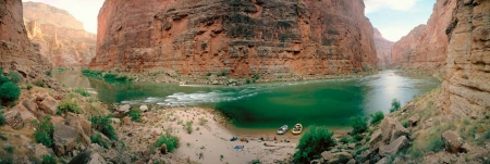 RIVER CAMP in MARBLE CANYON