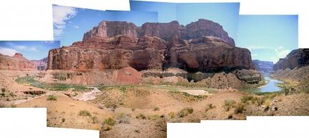 Nankoweap Collage, Marbl;e, Canyon