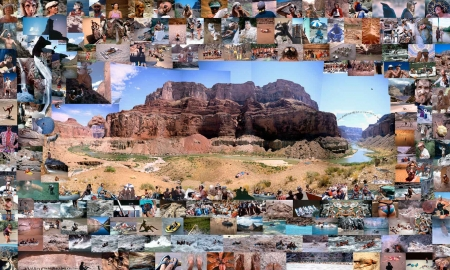 Photo Collage, Grand Canyon
